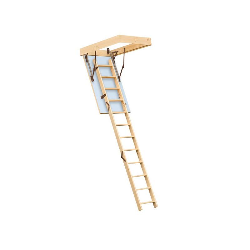 Escalier escamotable isol pour grenier trappe 120x60cm for Comescalier escamotable pour grenier