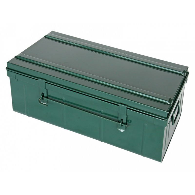 cantine malle m tallique 100x40x55cm. Black Bedroom Furniture Sets. Home Design Ideas