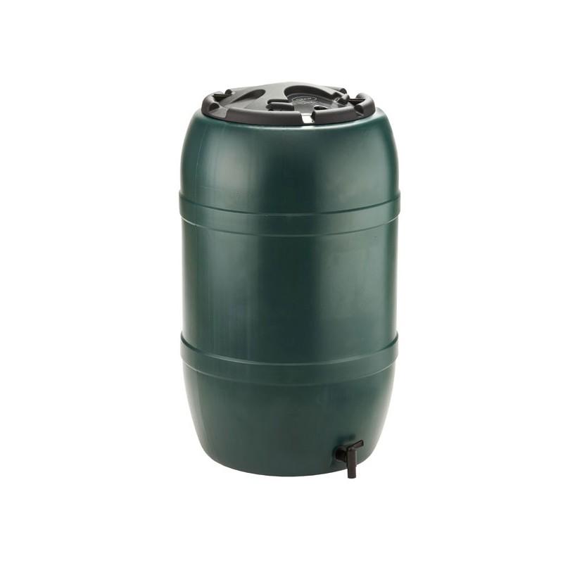 R cup rateur d 39 eau de pluie tonneau 210l for Recuperateur d eau de pluie