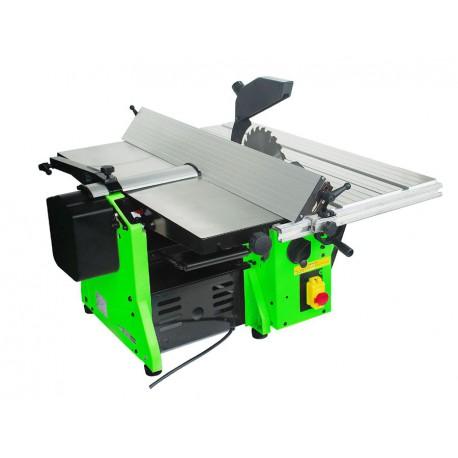 Scie rabot dégauchisseuse 3 en 1 - Build Worker BRDG1600-160