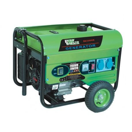 Groupe électrogene à essence portable 2200w - Build Worker BG2300R