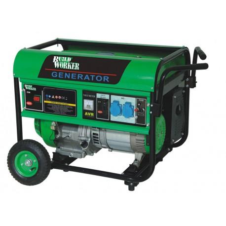 Groupe électrogène de chantier à essence 4000W - Build Worker BG4200R