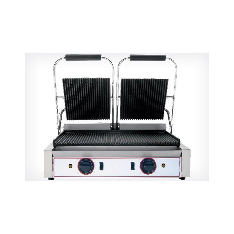 grill panini double professionnel achat double grill panini. Black Bedroom Furniture Sets. Home Design Ideas