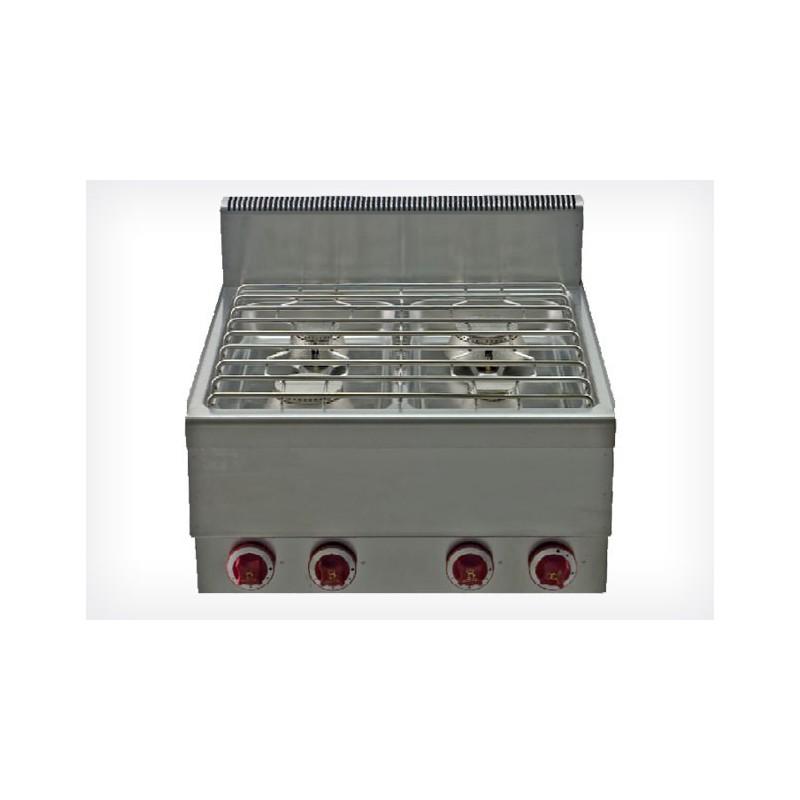 R chaud gaz professionnel 4 feux acheter r chaud gaz for Acheter materiel de cuisine professionnel