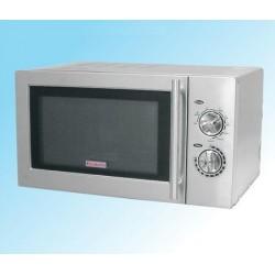 Four à micro ondes grill inox 900W-1400W 23L - Beckers MWO A 3 GR