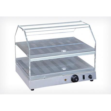 vitrine chauffante professionnelle 2 tages acheter vitrine chaude pas chere. Black Bedroom Furniture Sets. Home Design Ideas