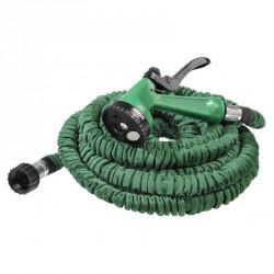 Tuyau hose arrosage extensible 23m avec pistolet 7 fontions