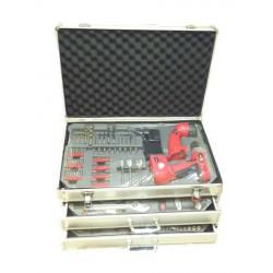 Caisse à outils complète Kraftech 199 pièces