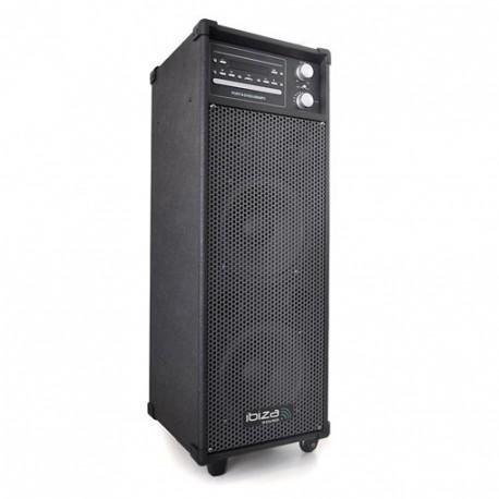 Sono portable Ibiza port 8 DVD CD USB-MP3/MP4 Tuner